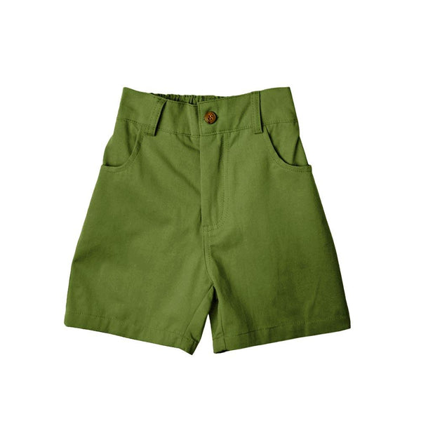 MELON Kids Bermuda Shorts, Moss Green
