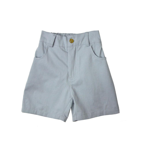 MELON Kids Boy Bermuda Shorts, Stone Blue