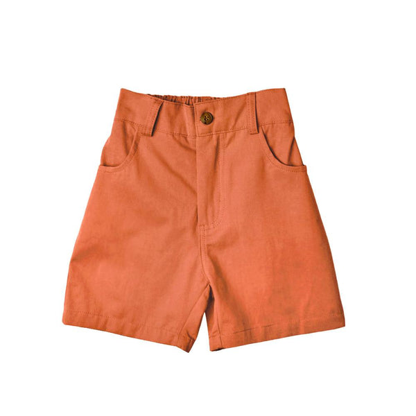 MELON Kids Bermuda Shorts, Carrot Orange