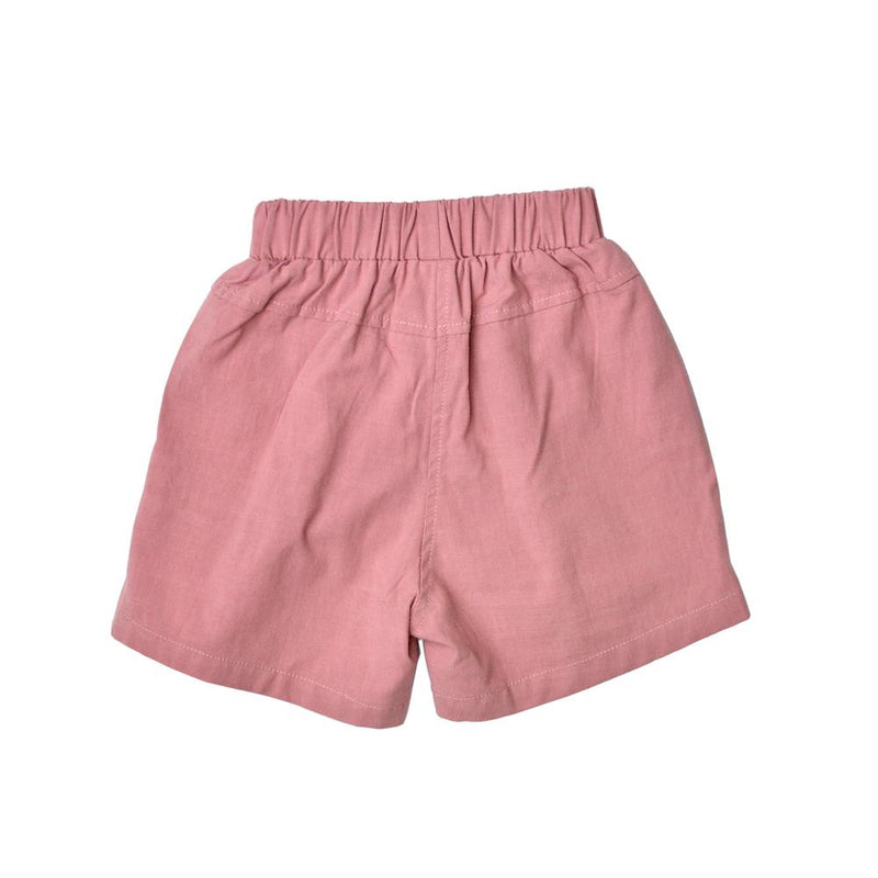 Cotton Linen Bermudas, Rose
