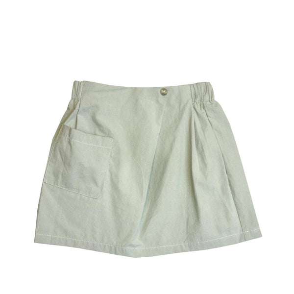 MELON Kids Girl Mini Skirt, Pickle Green