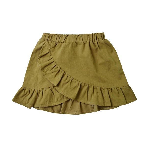MELON Kids Girl Mini skirt, Oyster brown