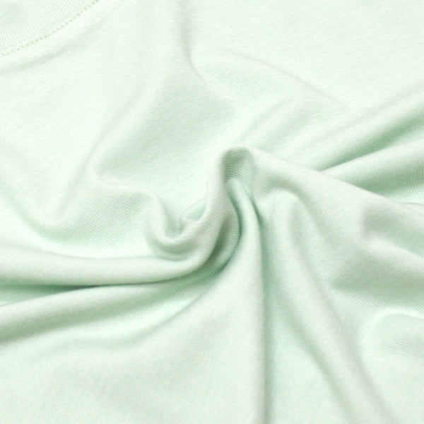 Soft Cotton Basic Tee, Mint Green