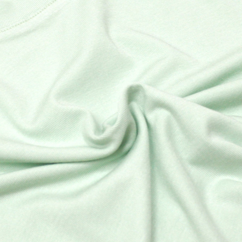 *NEW* Soft Cotton Basic Tee, Mint Green