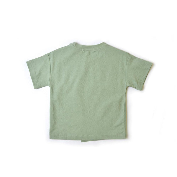 *Last Piece* Cotton T-shirt, Pickle