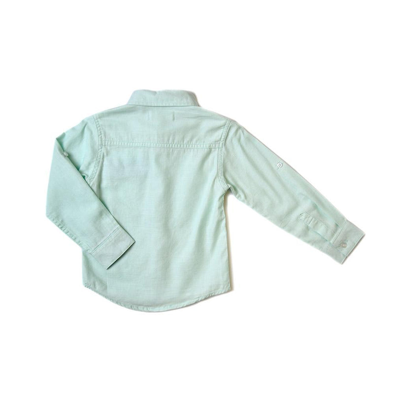 *Last Piece* French Collar Shirt, Mint