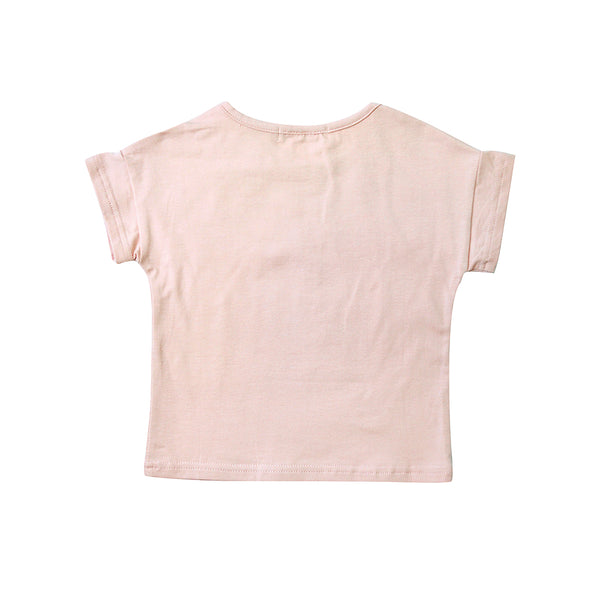 Jersey Cotton Top, Crepe