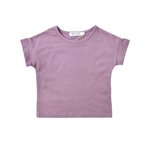 Jersey Cotton Top, Iris