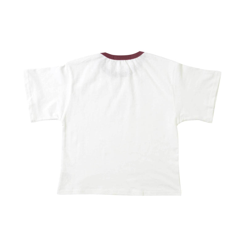 Cotton Top, Daisy with Currant Neckline