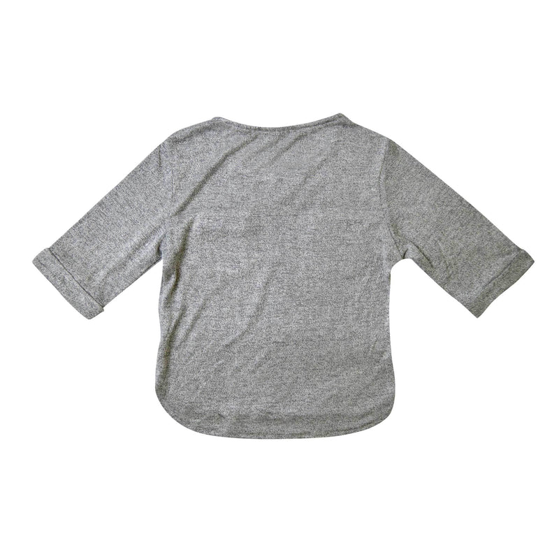*Size 110 &  130 only* Soft Cotton Knit Top, Coin