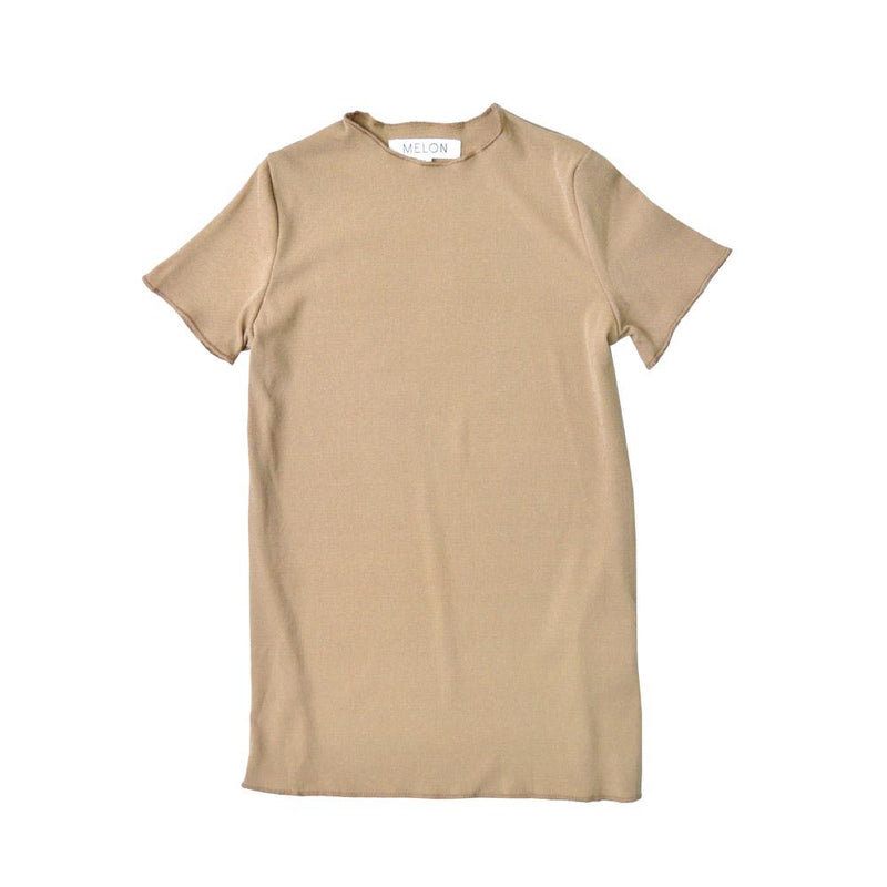 Lightweight Cotton Top, Peanut