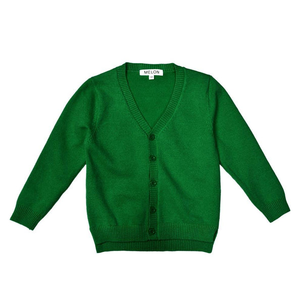 Soft Knit Cardigan, Basil