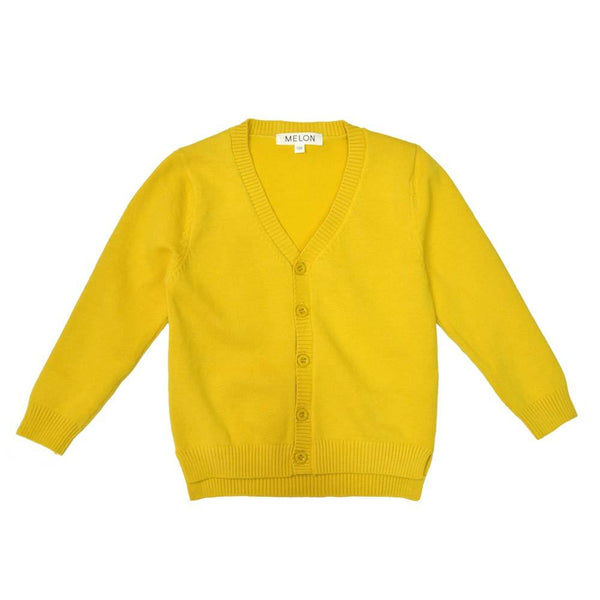 *Last Piece* Soft Knit Cardigan, Pineapple
