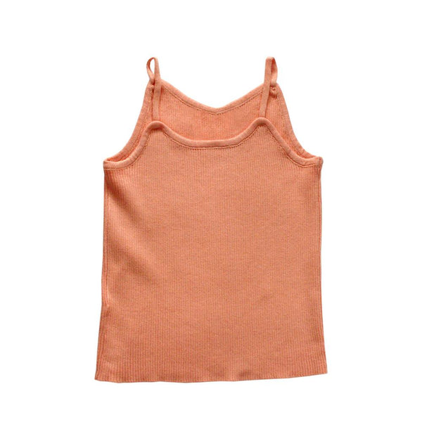 Knitted Tank Top, Apricot