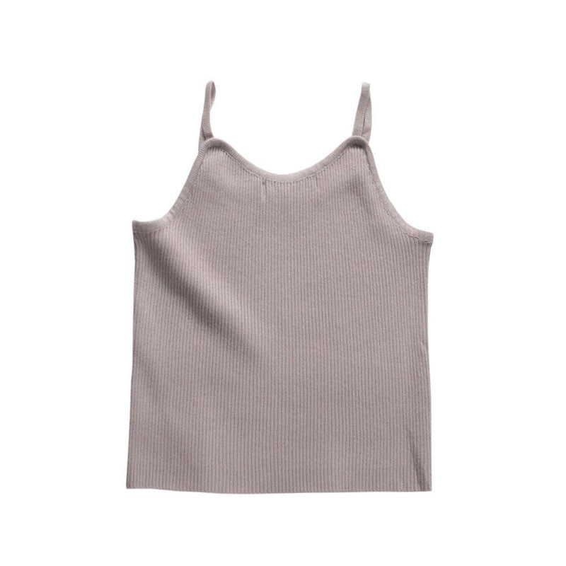 MELON Kids Knitted Tank Top, Heather