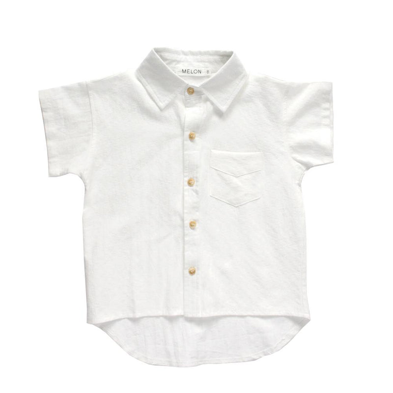 Boxy Relaxed Shirt, Daisy