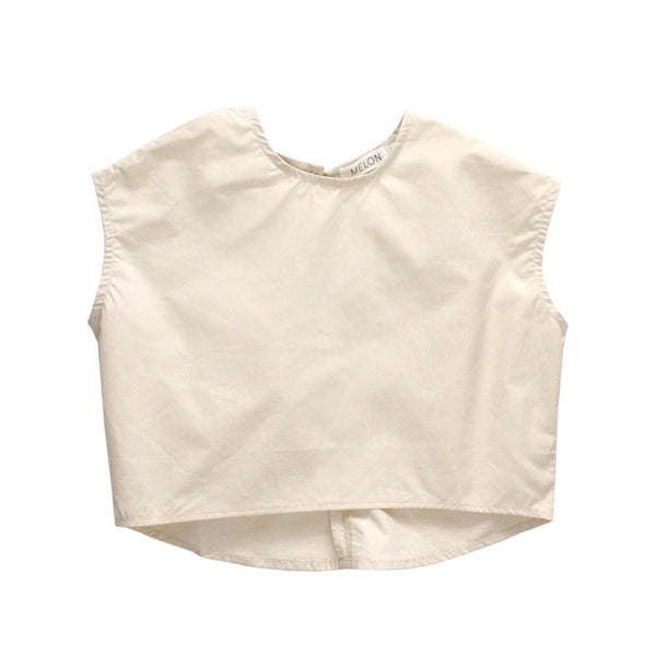 MELON Kids Lightweight Blouse, Buttermilk cream