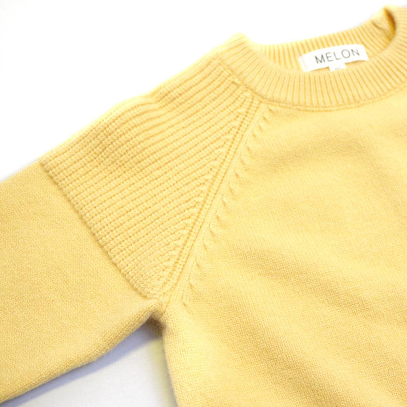 Cotton Knit Jumper, Pineapple