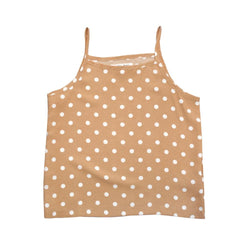Polka Dots Tank Top, Butternut