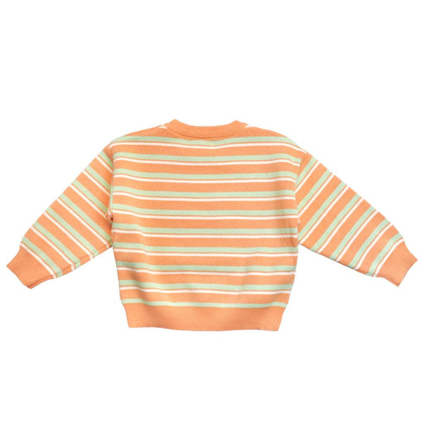 Statement Knit Jumper, Rockmelon