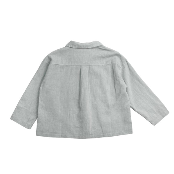 Cotton Linen Shirt, Stone