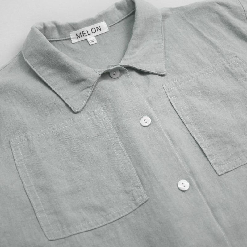 Cotton Linen Shirt, Pistachio