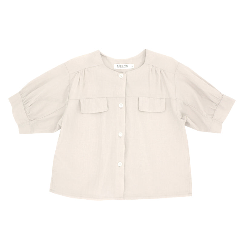 Cotton Blouse, Oat
