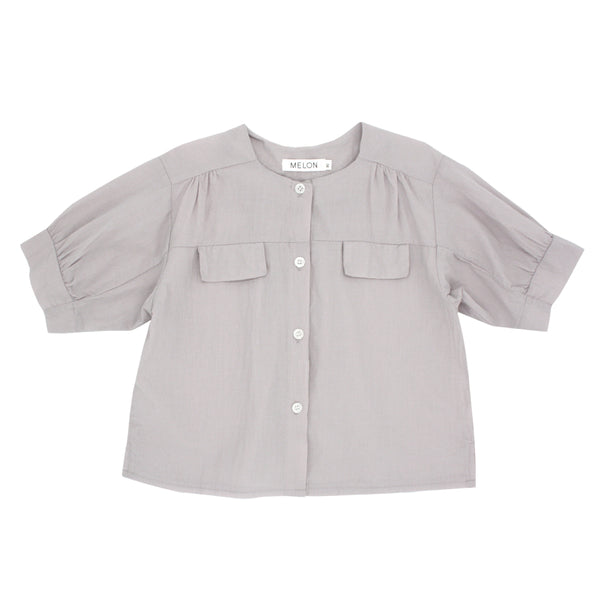 Cotton Blouse, Heather