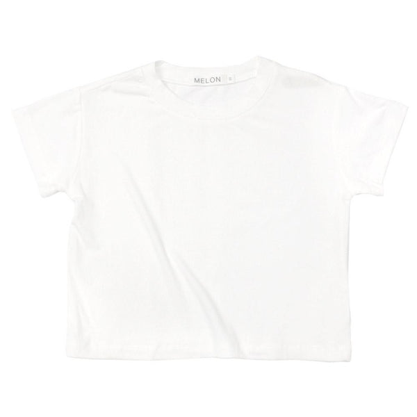 Soft Cotton Basic Tee, Daisy White