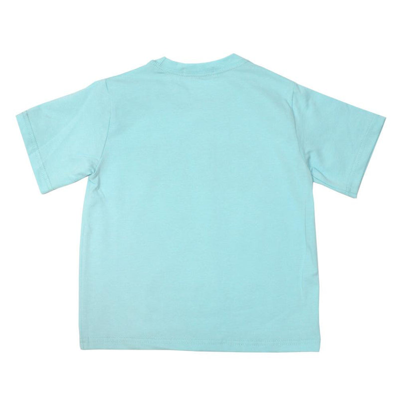 *NEW* Cotton Statement Tee, Cerulean Blue
