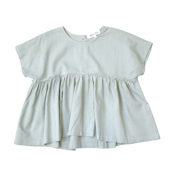 Babydoll Top, Sage Green