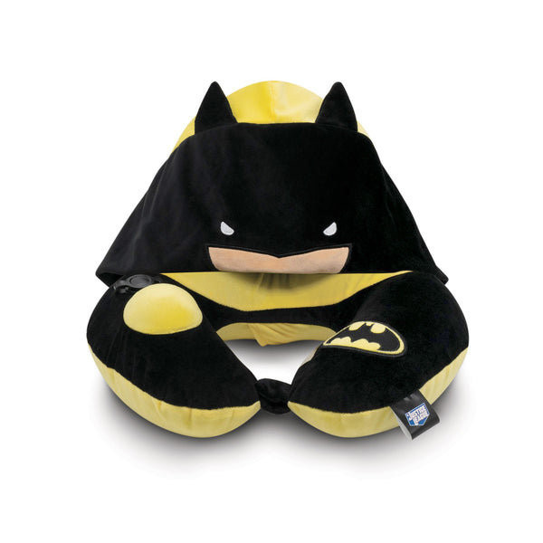 JUSTICE LEAGUE BATMAN NECK PILLOW WITH HOOD