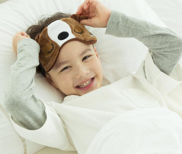 *NEW* BULL DOG KID'S EYE MASK