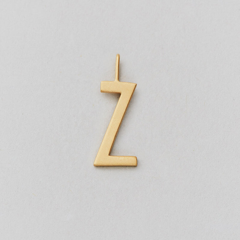 Design Letters Archetype Letter Charms 16mm, A-Z, Gold