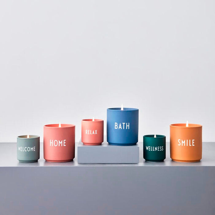Design Letters Scented Candle, Large