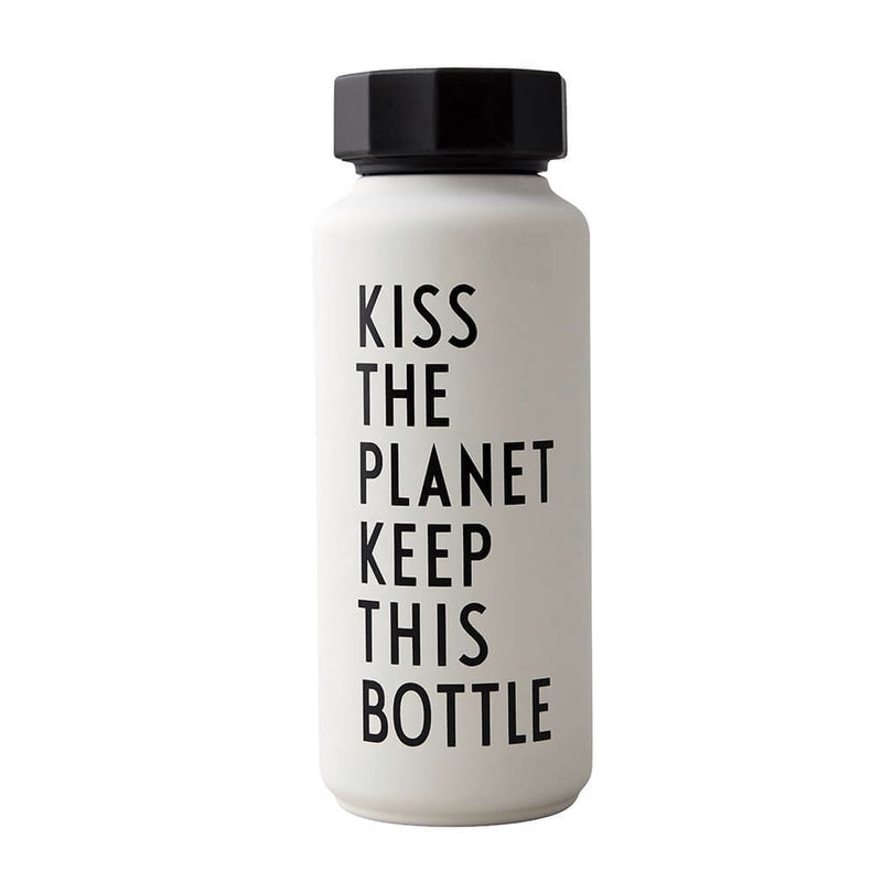 Design Letters Thermo/Insulated Bottle (500ml), Special Edition Black