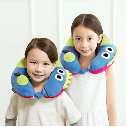 DINOSAUR KID'S INFLATABLE NECK PILLOW