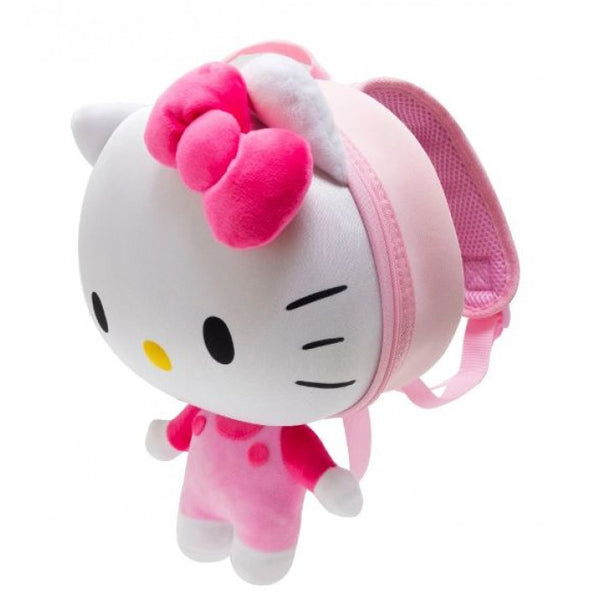 Officially Licensed Sanrio Hello Kitty 3D Backpack, Pink