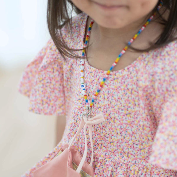 JOY Versi Kids Face Mask Chain Rainbow