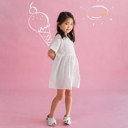 Cotton Smock Dress, Daisy