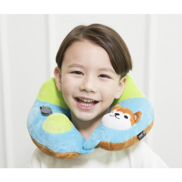 SHIBA INU KID'S INFLATABLE NECK PILLOW