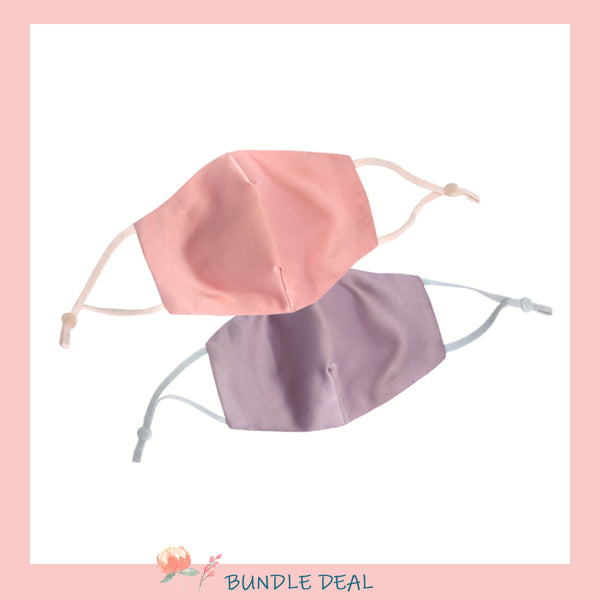Bundle of 2: Mask-Have Reversible Satin Mask