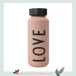 Design Letters Thermo/Insulated Bottle (500ml), Special Edition Nude