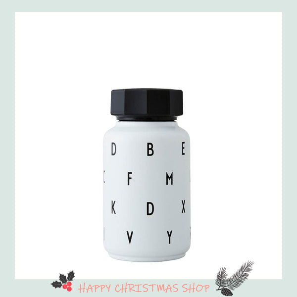Design Letters Kids Thermo/Insulated Bottle (330ml), White