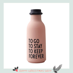 Design Letters TO GO Water Bottle, Special Edition (500ml)