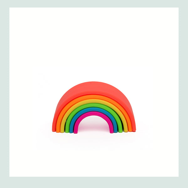 dëna Small Neon Rainbow (6 pieces)