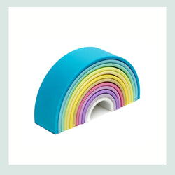 dëna Large Pastel Rainbow (12 pieces)