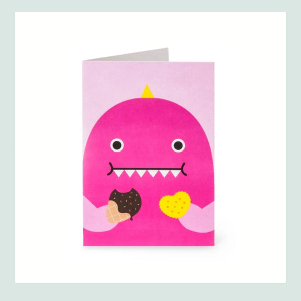 Noodoll Miss Dino Greeting Card
