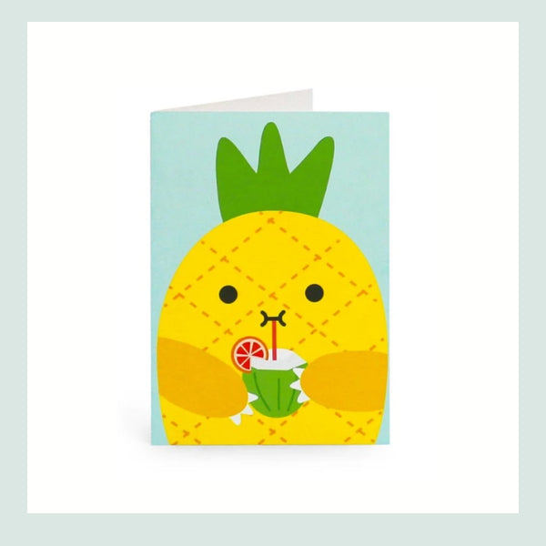 Noodoll Riceananas Greeting Card