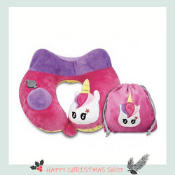 UNICORN KID'S INFLATABLE NECK PILLOW